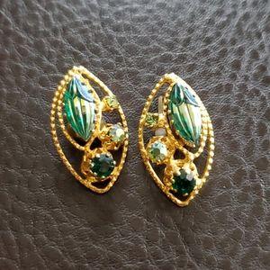 VTG Austrian clip on earrings